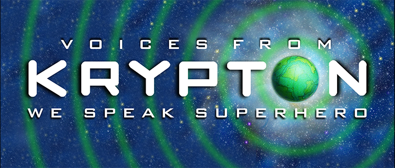 VOICES FROM KRYPTON logo!