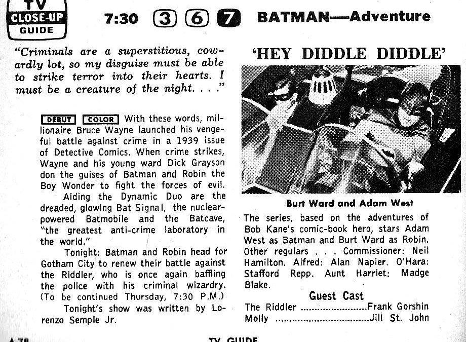 HOLY 54th ANNIVERSARY, BATMAN!