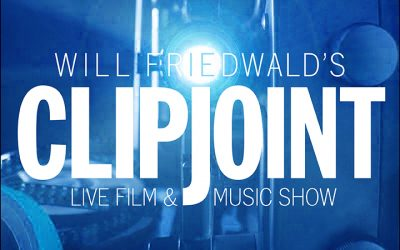 NEW LOGO FOR WILL FRIEDWALD'S CLIP JOINT!