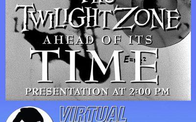 My TWILIGHT ZONE webinar @ SerlingFest 8/15!