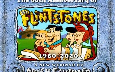 THE FLINTSTONES 60th ANNIVERSARY webinar 9/30!