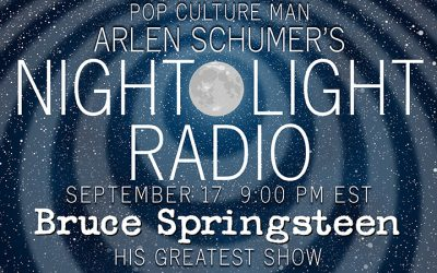 TALKIN' BRUCE SPRINGSTEEN ON NIGHT-LIGHT RADIO 9/17!