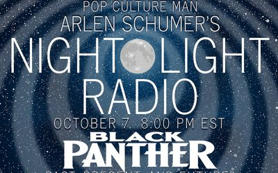 Talkin' BLACK PANTHER on the radio 10/7!