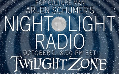 Talkin' TWILIGHT ZONE on the RADIO 10/1!