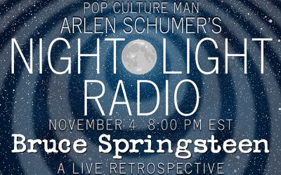 Talkin' SPRINGSTEEN LIVE RETROSPECTIVE on the radio 11/4!