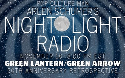 Talkin' GREEN LANTERN-GREEN ARROW on the radio 11/18!