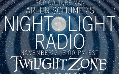 Talkin' TWILIGHT ZONE on the radio 11/7!