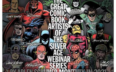 GREAT COMIC ARTISTS OF THE SILVER AGE webinar series #1: Carmine Infantino 1/27/21