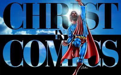 CHRIST IN COMICS webinar 3/30!