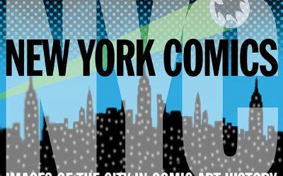 NEW YORK CITY in COMICS webinar 3/15!