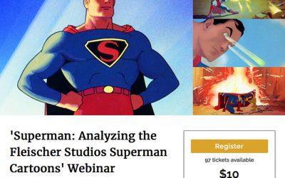 SUPERMAN cartoons webinar 5/25!