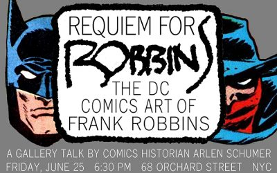 FRANK ROBBINS live lecture in NYC 6/25