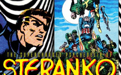 THE SUPERCHARGED PSYCHEDELIA OF STERANKO free webinar 8/25