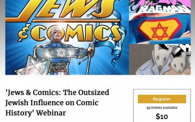 JEWS & COMICS webinar 9/14!